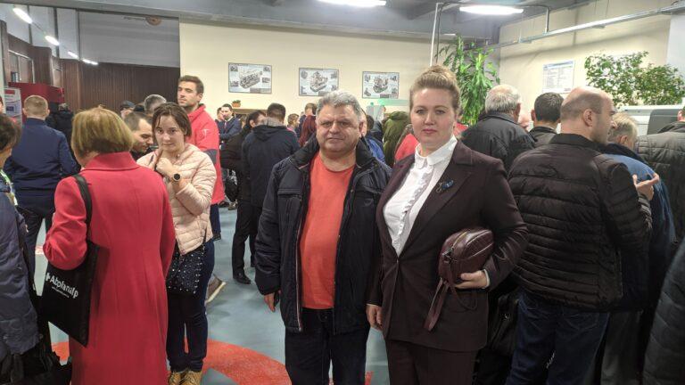 Открытие технического центра Haas в Молдове.